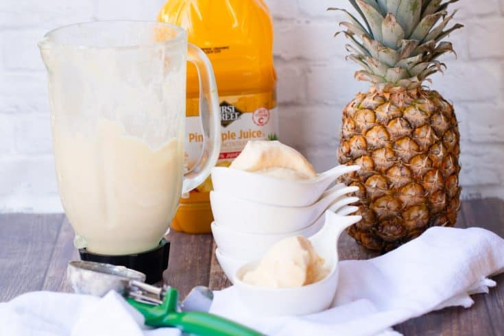 Homemade Pineapple Whip (AKA Dole Whip)