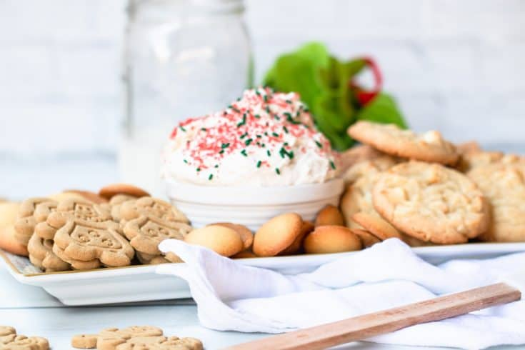 Holiday Cake Mix Cookie Dip