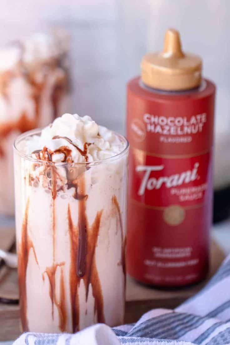 Chocolate Hazelnut Vanilla Bean Smoothie